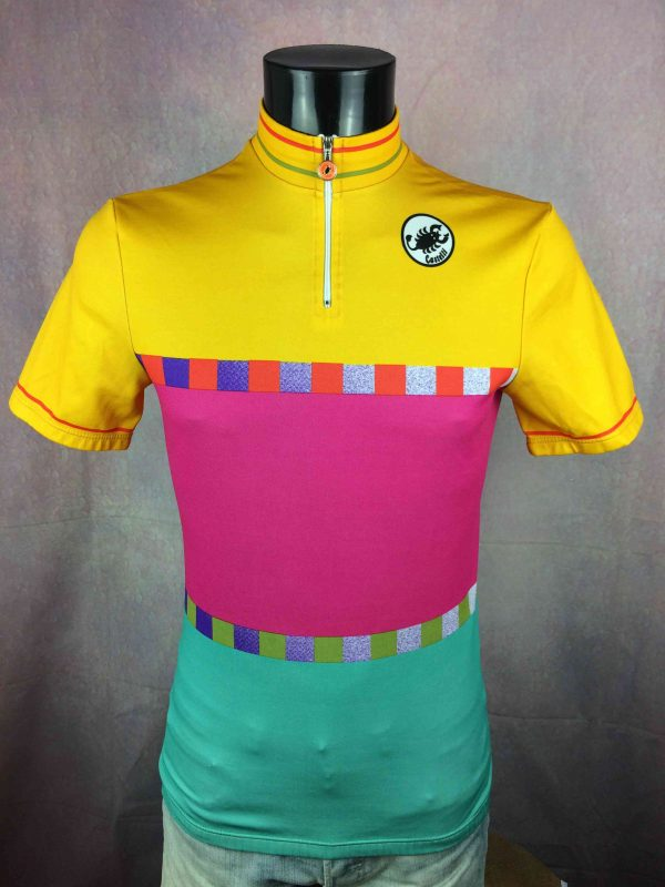CASTELLI Maillot Vintage 90s Made in Italy - Gabba Vintage