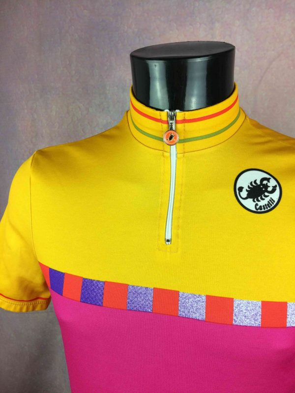 CASTELLI Maillot Vintage 90s Made in Italy Gabba Vintage 3 scaled - CASTELLI Maillot Vintage 90s Made in Italy