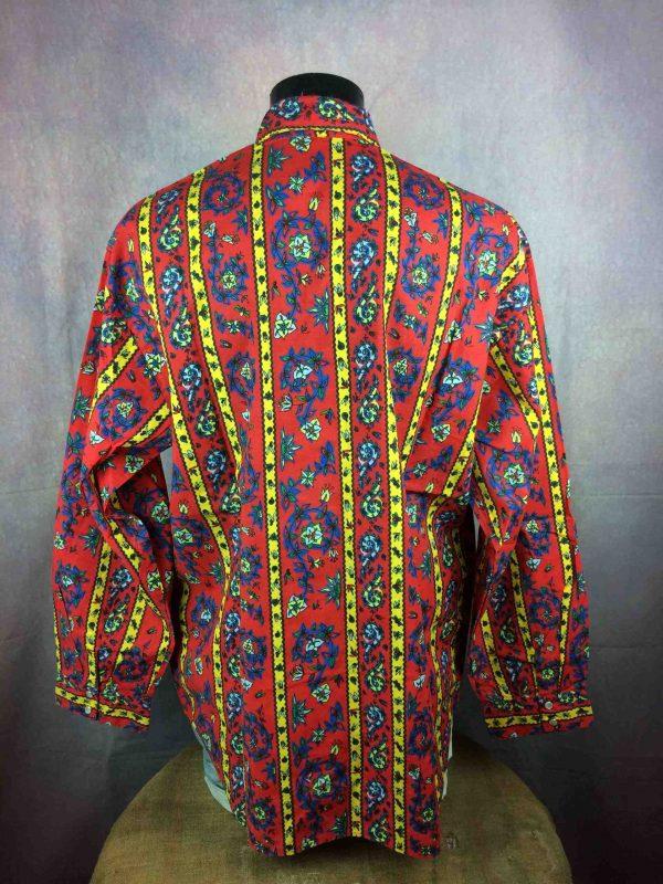 CIEL DE PROVENCE Chemise Vintage 80s NOS Gabba Vintage 1 scaled - CIEL DE PROVENCE Chemise Vintage 80s Neuf