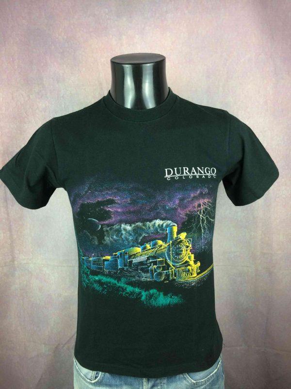 DURANGO Colorado T Shirt Vintage 90s Train Gabba Vintage 2 scaled - DURANGO Colorado T-Shirt Vintage 90s Train