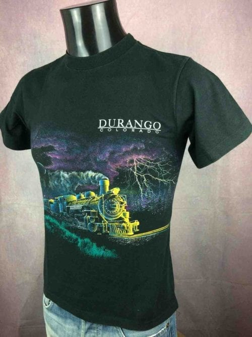 DURANGO Colorado T-Shirt Vintage 90s Train - Gabba Vintage