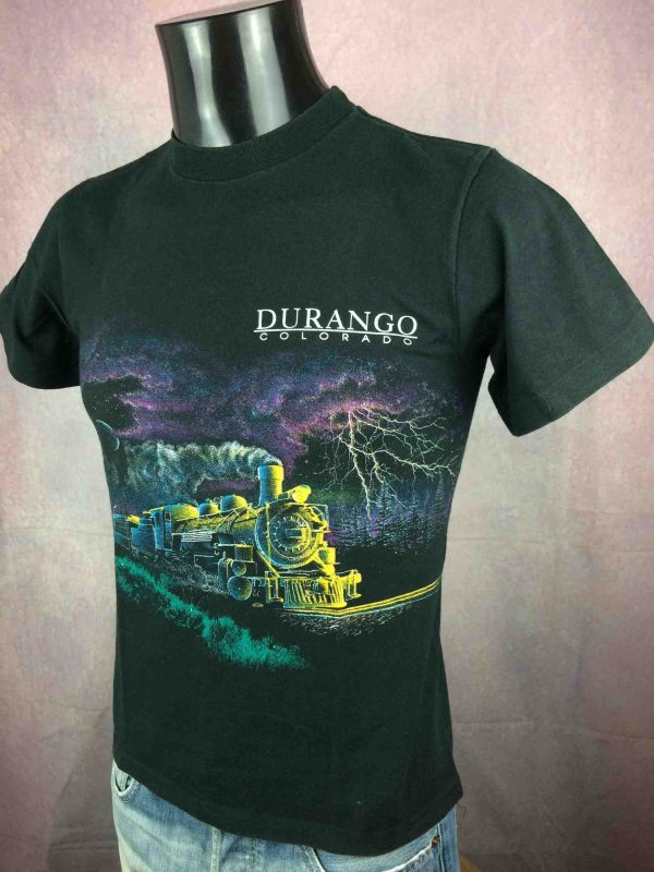 DURANGO Colorado T-Shirt Vintage 90s Train - Gabba Vintage
