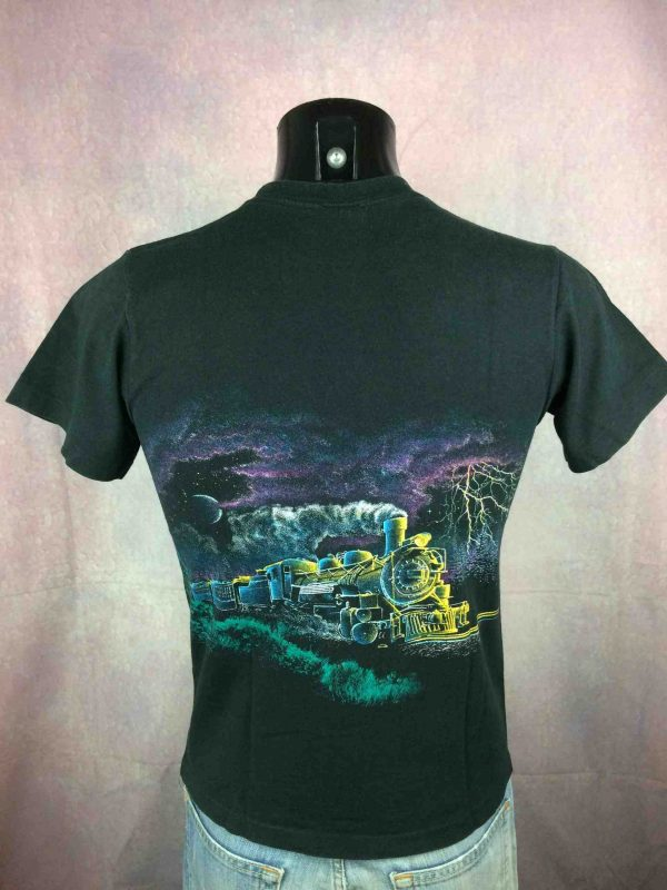 DURANGO Colorado T Shirt Vintage 90s Train Gabba Vintage 4 scaled - DURANGO Colorado T-Shirt Anvil Vintage 90s