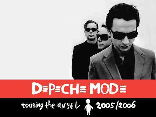 Depeche mode 1 - DEPECHE MODE Touring The Angel 2005: T-Shirt