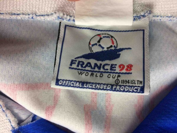 FRANCE 98 Maillot World Cup Vintage 90s FFF Gabba Vintage 1 scaled - FRANCE 98 Jersey World Cup Vintage 90s FFF