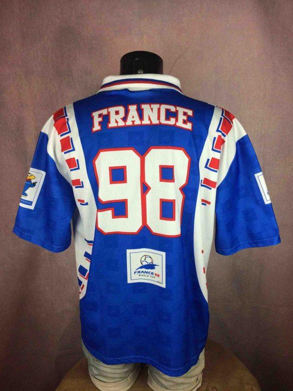FRANCE 98 Maillot World Cup Vintage 90s FFF - Gabba Vintage