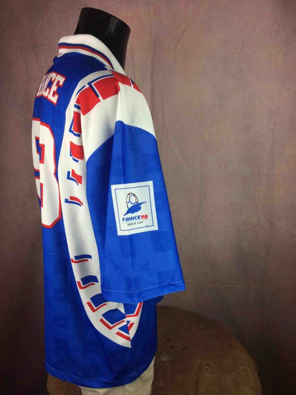FRANCE 98 Maillot World Cup Vintage 90s FFF Gabba Vintage 4 scaled - FRANCE 98 Jersey World Cup Vintage 90s FFF