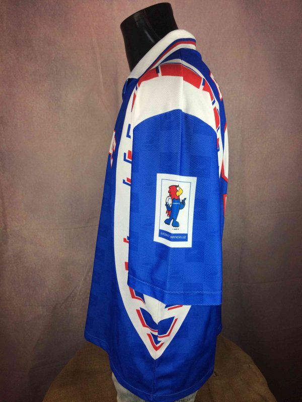 FRANCE 98 Maillot World Cup Vintage 90s FFF Gabba Vintage 5 scaled - FRANCE 98 Jersey World Cup Vintage 90s FFF