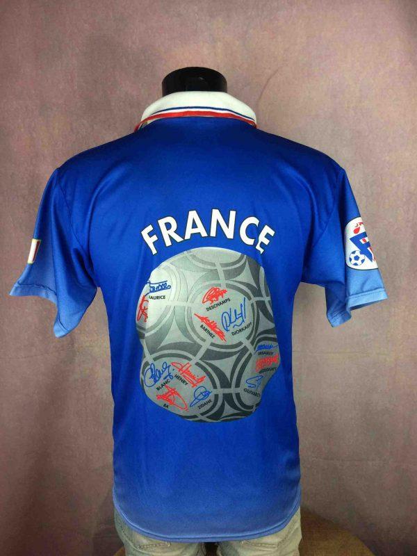 FRANCE Maillot Vintage 1997 1998 FFF Joueurs Gabba Vintage 1 scaled - FRANCE Maillot Vintage 1997 1998 FFF Joueurs Coupe du Monde Football