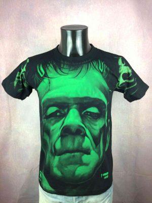 FRANKENSTEIN T-Shirt Vintage 00 Double Sided - Gabba Vintage