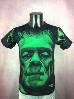 FRANKENSTEIN T-Shirt Vintage 00 Double Sided - Gabba Vintage