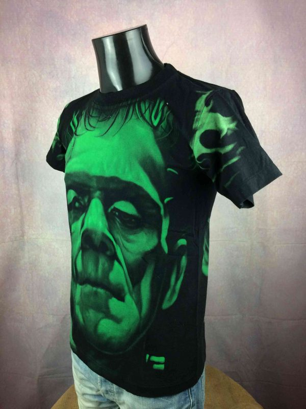 FRANKENSTEIN T Shirt Vintage 00 Double Sided Gabba Vintage 3 scaled - FRANKENSTEIN T-Shirt Vintage 00 Double Sided