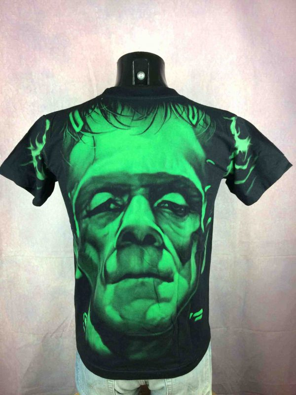 FRANKENSTEIN T Shirt Vintage 00 Double Sided Gabba Vintage 4 scaled - FRANKENSTEIN T-Shirt Vintage 00 Double Sided