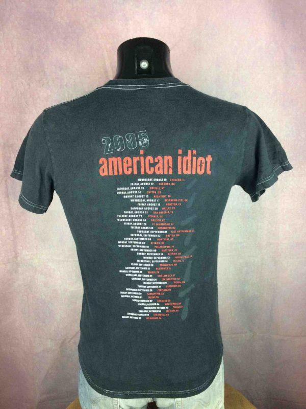 GREEN DAY T Shirt American Idiot 2005 Tour Gabba Vintage 1 scaled - GREEN DAY T-Shirt American Idiot 2005 Tour