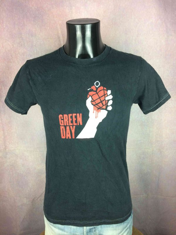 GREEN DAY T-Shirt American Idiot 2005 Tour - Gabba Vintage