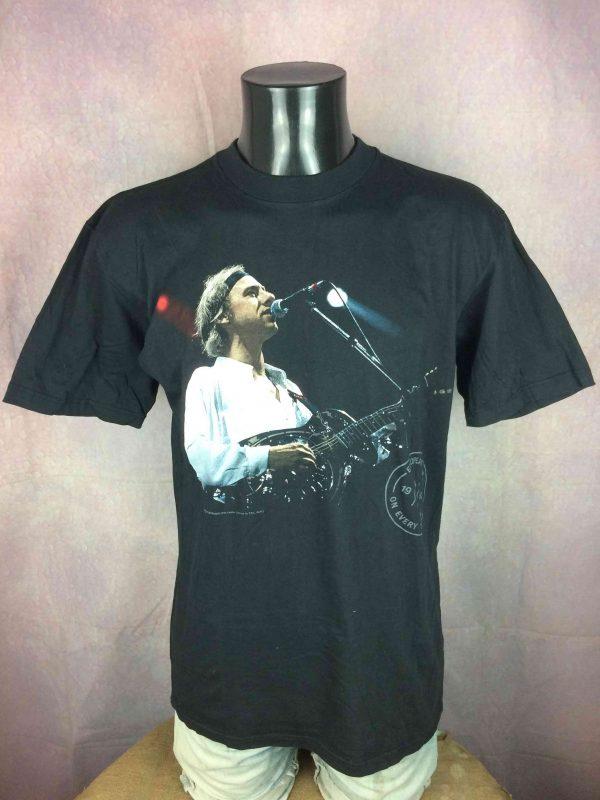 DIRE STRAITS T-Shirt European Tour 1992 VTG - Gabba Vintage