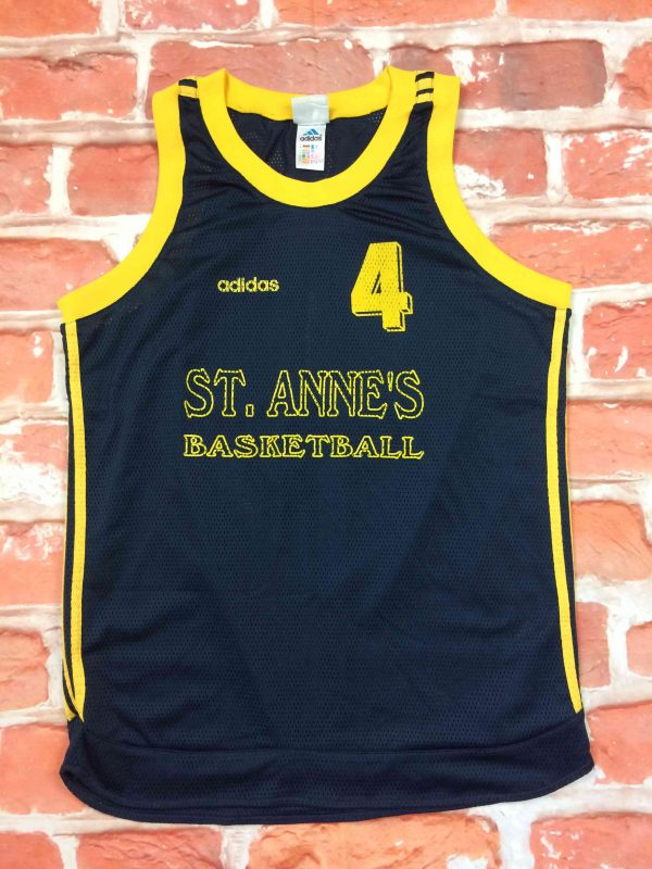 IMG 6505 compressed scaled - ST ANNE'S BASKETBALL Maillot + Shorts Adidas