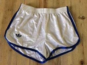 ADIDAS Shorts VTG 80s Made in France Ventex - Gabba Vintage