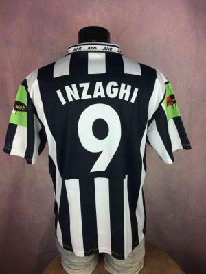 INZAGHI Maillot 9 2000 2002 Juventus Replica - Gabba Vintage