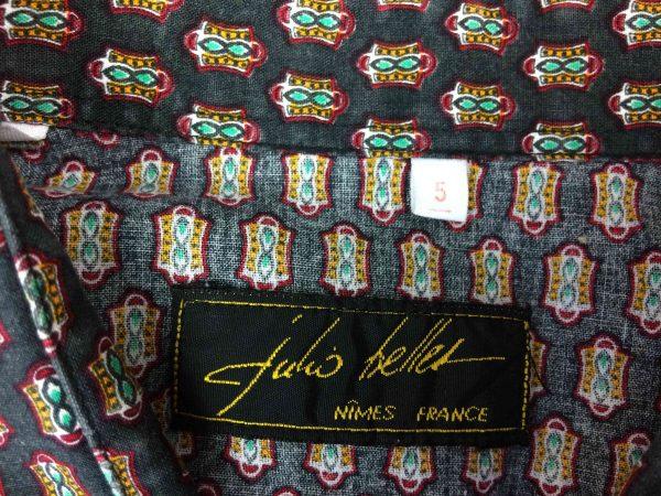 JULIO BELLES Nîmes France Chemise Vintage 80 Gabba Vintage 2 scaled - JULIO BELLES Nîmes France Chemise Vintage 80