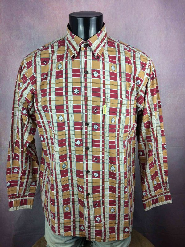 LES OLIVADES Chemise Made in Provence 00s - Gabba Vintage