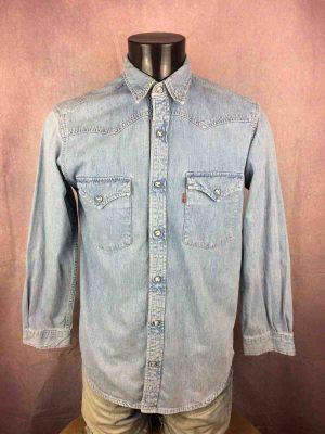 LEVIS Jeans Chemise Vintage 90s Bouton Nacre - Gabba Vintage