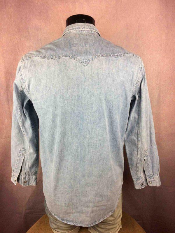 LEVIS Jeans Chemise Vintage 90s Bouton Nacre Gabba Vintage 5 scaled - LEVIS Jeans Chemise Vintage 90s Bouton Nacre