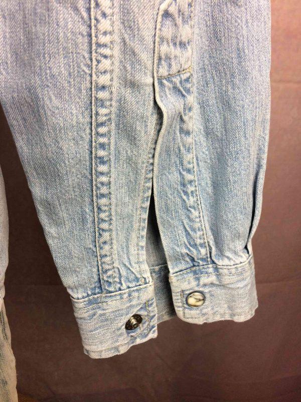 LEVIS Jeans Chemise Vintage 90s Bouton Nacre Gabba Vintage 6 scaled - LEVIS Jeans Chemise Vintage 90s Bouton Nacre