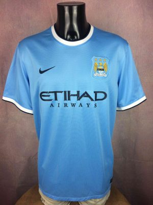 MANCHESTER CITY Maillot Nasri #8 2013 2014 - Gabba Vintage