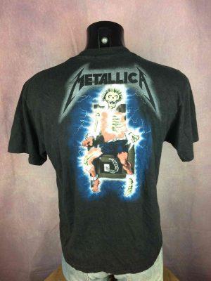 METALLICA T Shirt 1985 Metal Up Your Ass VTG Gabba Vintage 1 - Home