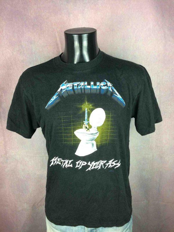 METALLICA T-Shirt 1985 Metal Up Your Ass VTG - Gabba Vintage