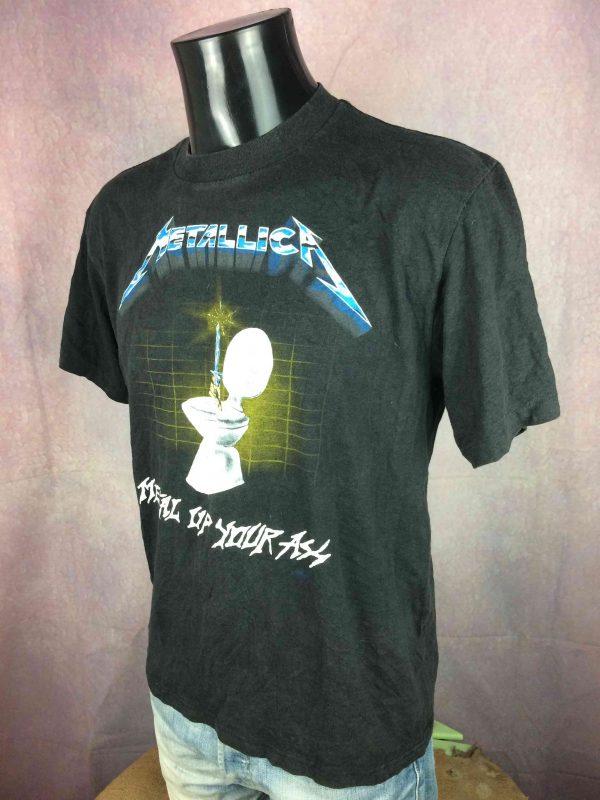 METALLICA T Shirt 1985 Metal Up Your Ass VTG Gabba Vintage 3 scaled - METALLICA T-Shirt 1985 Metal Up Your Ass VTG