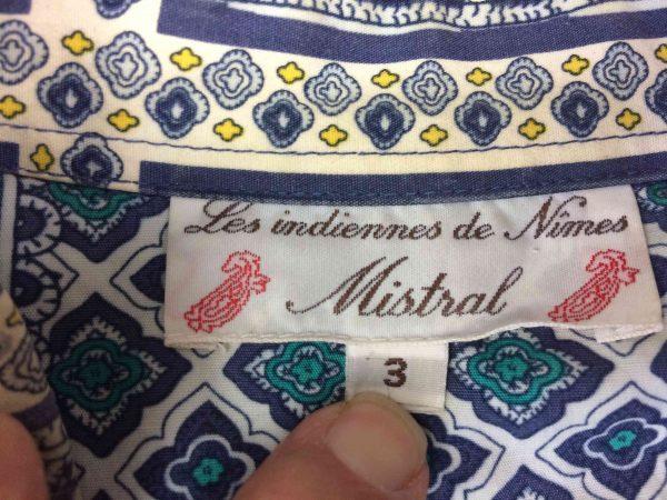 MISTRAL Chemise Indiennes de Nimes Vintage Gabba Vintage 1 scaled - MISTRAL Chemise Indiennes de Nimes Vintage