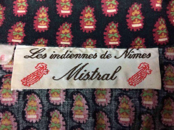 MISTRAL Chemise Les Indiennes de Nimes 80s Gabba Vintage 1 scaled - MISTRAL Chemise Les Indiennes de Nimes 80s