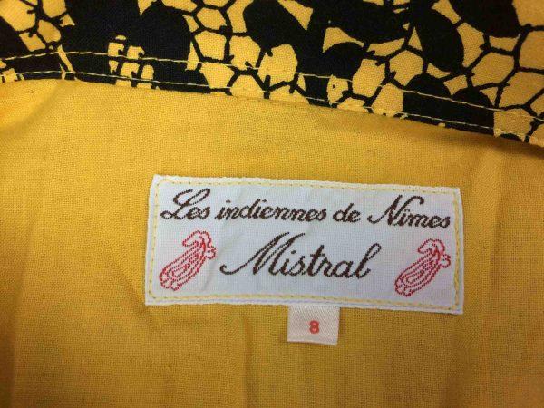 MISTRAL Chemise VTG 00s Indiennes de Nimes Gabba Vintage 1 scaled - MISTRAL Chemise Vintage 00s Provence 2XL