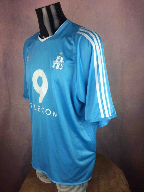 OM Maillot 2003 2004 Away Adidas Vintage Gabba Vintage 5 scaled - MARSEILLE Maillot 2003 2004 Away OM Adidas