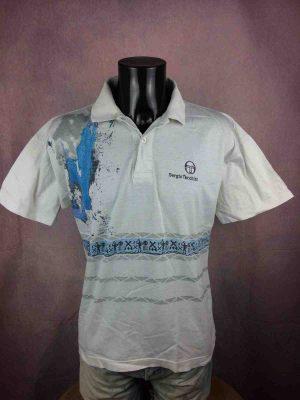 SERGIO TACCHINI Polo Vintage 90 Tennis Etnic - Gabba Vintage