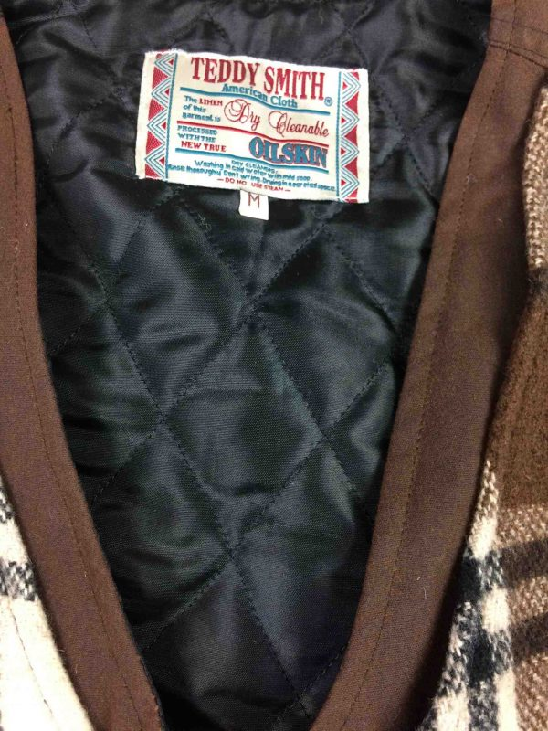 TEDDY SMITH Gilet Vintage 90s 25 Laine Wool Gabba Vintage 3 scaled - TEDDY SMITH Gilet Vintage 90s 25% Laine Wool