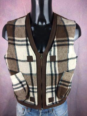 TEDDY SMITH Gilet Vintage 90s 25% Laine Wool - Gabba Vintage
