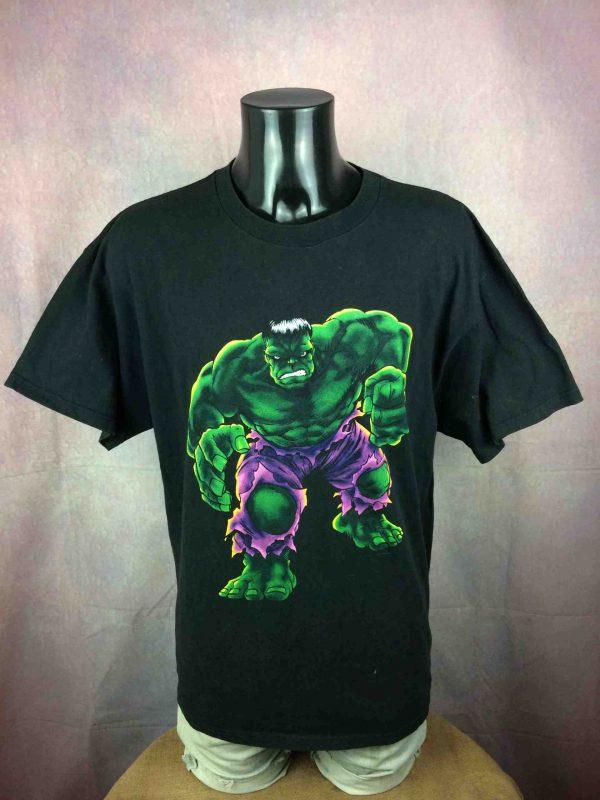 THE INCREDIBLE HULK T Shirt Marvel VTG 2002 Gabba Vintage 2 scaled - THE INCREDIBLE HULK T-Shirt Vintage 2002