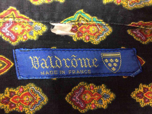 VALDROME Chemise Vintage 80s Made in France - Gabba Vintage