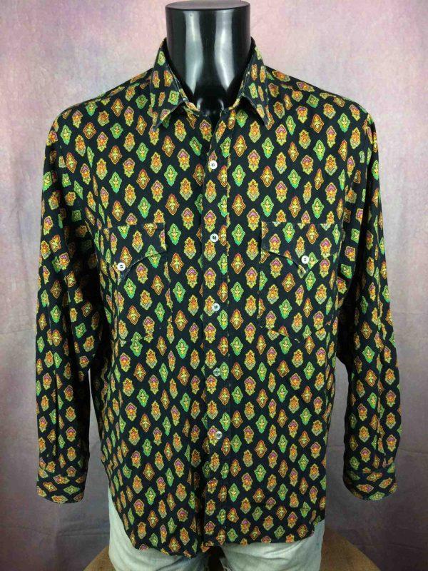 VALDROME Chemise Vintage 80s Made in France Gabba Vintage 2 scaled - VALDROME Chemise Vintage 80s Made in France