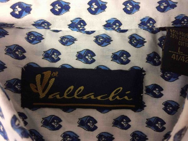 VALLACHI Chemise Vintage 90s Provence France Gabba Vintage 1 scaled - VALLACHI Chemise Vintage 90s Provence Gardian