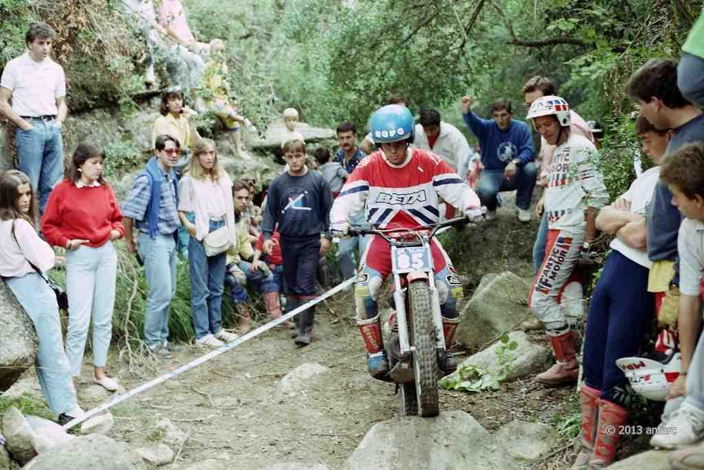 jordi tarres 1987 2 - BETA Maillot World Champion 1987: L'histoire