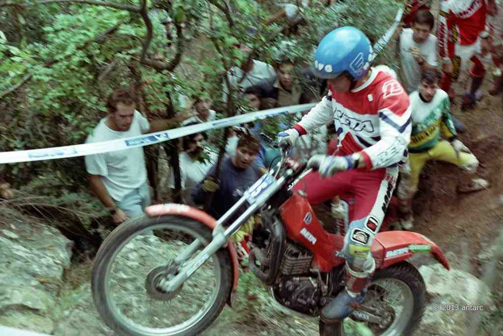 jordi tarres 1987 - BETA Maillot World Champion 1987: L'histoire