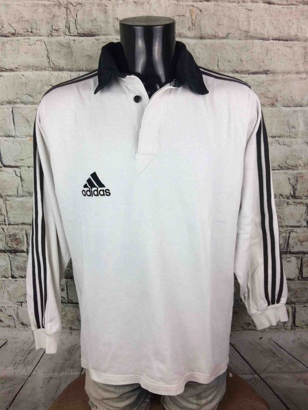 ADIDAS Maillot Polo 1999 Vintage 90s Rugby - Gabba Vintage