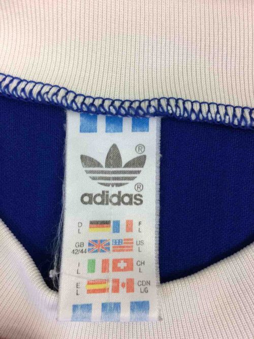 ADIDAS Maillot Vintage 90s Made in UK Foot - Gabba Vintage