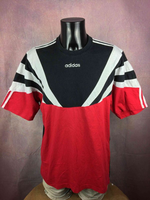 ADIDAS T-Shirt Vintage 90s Made in Portugal - Gabba Vintage