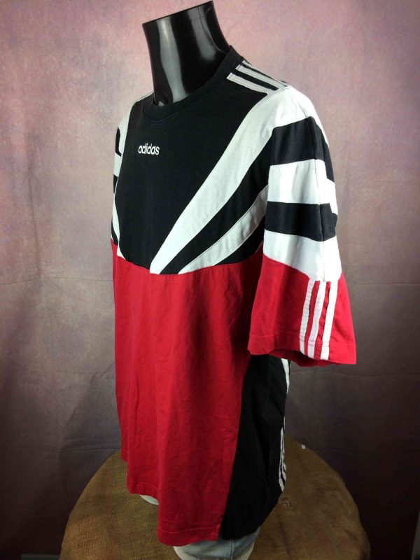 ADIDAS T Shirt Vintage 90s Made in Portugal Gabba Vintage 3 scaled - ADIDAS T-Shirt Vintage 90s Made in Portugal