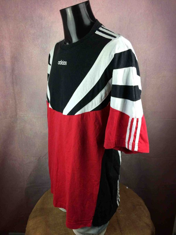 ADIDAS T Shirt Vintage 90s Made in Portugal Gabba Vintage 3 scaled - ADIDAS T-Shirt Vintage 90s Made in Portugal Football